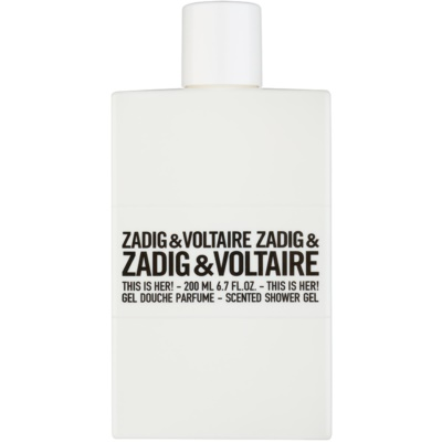 Zadig & Voltaire This Is Her! gel douche pour femme 200 ml