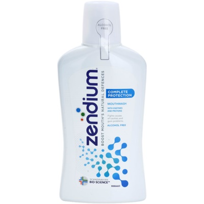 Zendium Complete Protection enjuague bucal sin alcohol