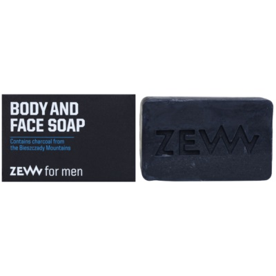 Zew For Men savon solide naturel corps et visage