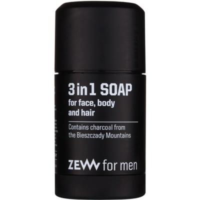 natürliche feste Seife für Gesicht, Körper und Haare 3in1