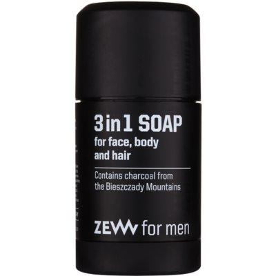 přírodní tuhé mýdlo na obličej, tělo a vlasy 3 v 1