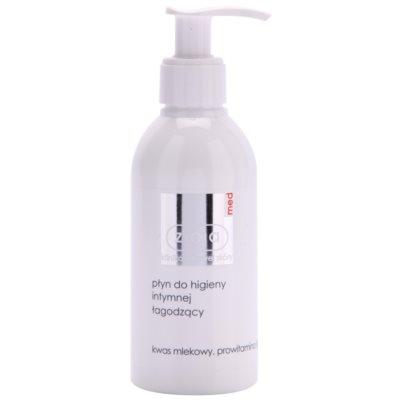 gel pro intimní hygienu se zklidňujícím účinkem