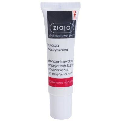 koncentrirana lokalna nega za občutljivo kožo, ki je nagnjena k rdečici, s pomirjevalnim učinkom
