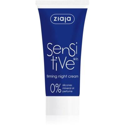 festigende Nachtcreme für empfindliche Haut