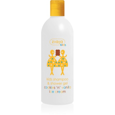 Ziaja Kids Cookies 'n' Vanilla Ice Cream 2in1 Shampoo and Cleansing Gel For Kids