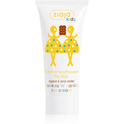 Ziaja Kids Cookies 'n' Vanilla Ice Cream dentifrice pour enfant