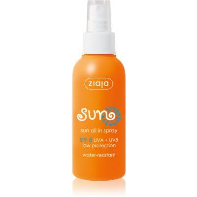 Ziaja Sun Zonnebrandolie Spray SPF 6