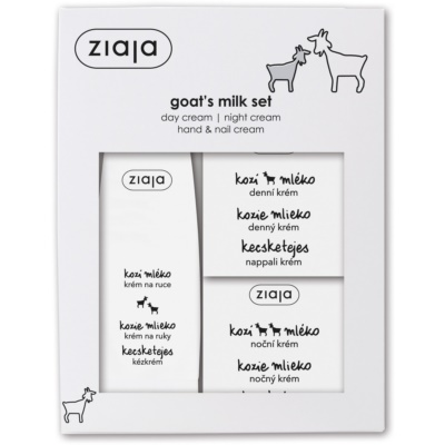 Ziaja Goat's Milk kozmetika szett I.