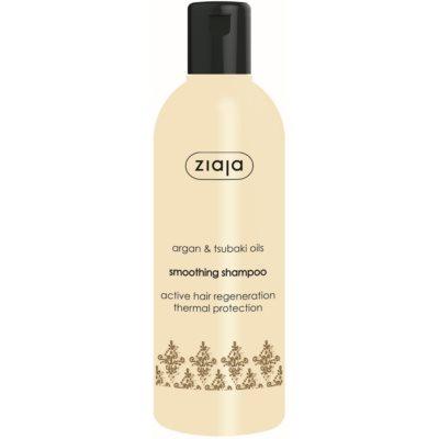 vyhladzujúci šampón s arganovým olejom