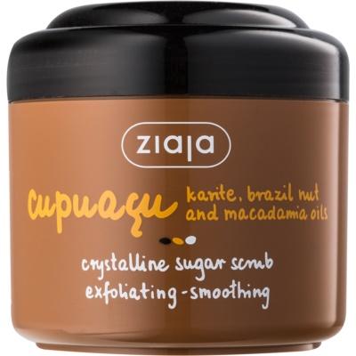 Ziaja Cupuacu krystalický cukrový peeling