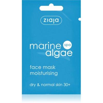 Hydratisierende Maske für normale und trockene Haut
