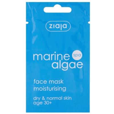vlažilna maska za normalno in suho kožo