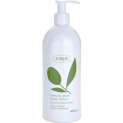 Körpermilch mit Auszügen aus Oliven