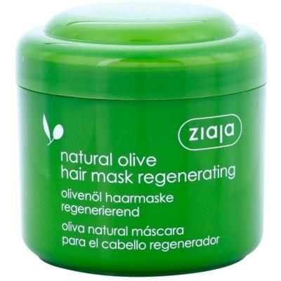 regeneračná maska  na vlasy