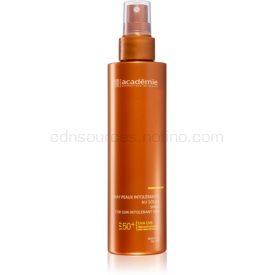 Academie Sun Protection Spray For Sun Intolerant Skin ochranný sprej na telo pri slnečnej intolerancii SPF 50+ 150 ml