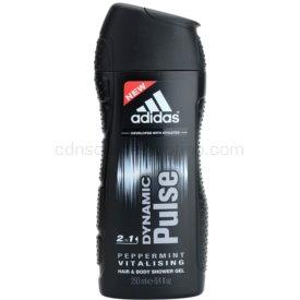 Adidas Dynamic Pulse sprchový gél na telo a vlasy pre mužov 250 ml