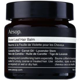 Aésop Hair Violet Leaf tvarujúci balzam pre nepoddajné a krepovité vlasy 60 ml