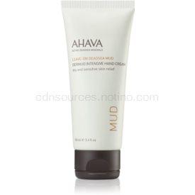 Ahava Dead Sea Mud intenzívny krém na ruky pre suchú a citlivú pokožku 100 ml