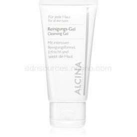 Alcina For All Skin Types čistiaci gél s aloe vera a zinkom 150 ml