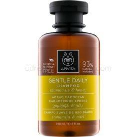 Apivita Holistic Hair Care Chamomile & Honey šampón pre každodenné umývanie vlasov  250 ml