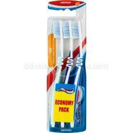 Aquafresh Flex zubné kefky medium 3 ks