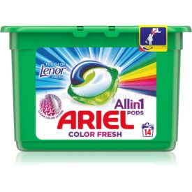 Ariel Color Touch Of Lenor kapsuly na pranie 14 ks