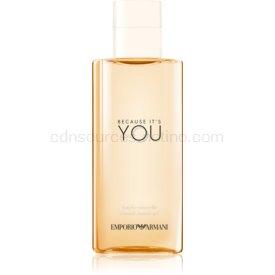 Armani Emporio Because It's You sprchový gél pre ženy 200 ml