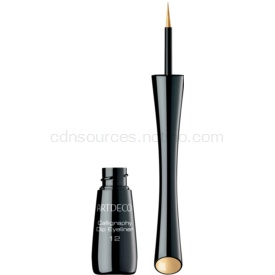 Artdeco Calligraphy Dip Eyeliner tekuté linky na oči odtieň 12 Gold 2,5 ml