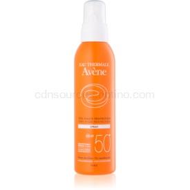 Avène Sun Sensitive sprej na opaľovanie SPF 50+ 200 ml