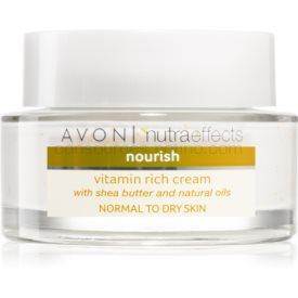 Avon Nutra Effects Nourish výživný krém s bambuckým maslom 50 ml