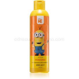 Avon Minions Minios šampón a kondicionér 2 v1 pre deti 200 ml