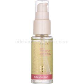 Avon Advance Techniques Smooth As Silk sérum pre hodvábne hebké vlasy 30 ml