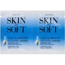 Avon Skin So Soft Smooth voskové depilačné pásiky na tvár 10x2 ks