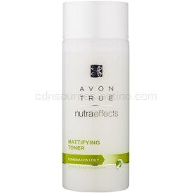 Avon True NutraEffects zmatňujúca pleťová voda pre mastnú a zmiešanú pleť 200 ml