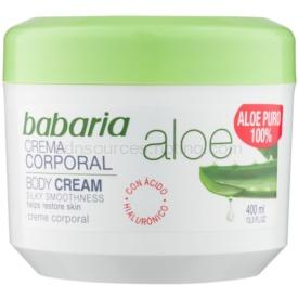 Babaria Aloe Vera telový krém s aloe vera 400 ml