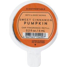 Bath & Body Works Sweet Cinnamon Pumpkin vôňa do auta 6 ml náhradná náplň