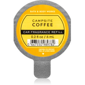 Bath & Body Works Campsite Coffee vôňa do auta náhradná náplň 6 ml