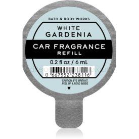 Bath & Body Works White Gardenia vôňa do auta náhradná náplň 6 ml