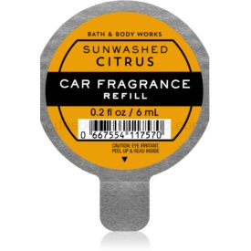 Bath & Body Works Sun-Washed Citrus vôňa do auta 6 ml