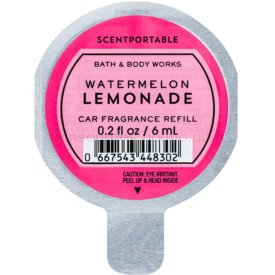 Bath & Body Works Watermelon Lemonade vôňa do auta náhradná náplň 6 ml