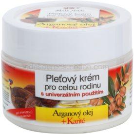 Bione Cosmetics Argan Oil + Karité pleťový krém pre celú rodinu 260 ml