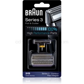 Braun Series 3 31S CombiPack Foil & Cutter planžeta a strihacia lišta 31S