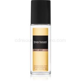 Bruno Banani Man's Best deodorant s rozprašovačom pre mužov 75 ml