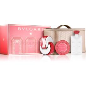 Bvlgari Omnia Coral darčeková sada V. toaletná voda 65 ml + telové mlieko 75 ml + mydlo 75 g + kozmetická taška 1 ks