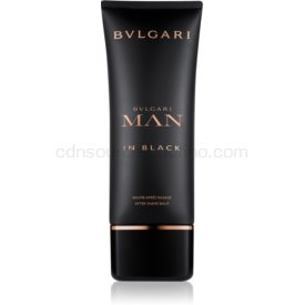 Bvlgari Man in Black balzám po holení pre mužov 100 ml