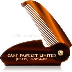 Captain Fawcett Accessories skladací hrebeň na fúzy 7e4be695c27
