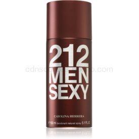 Carolina Herrera 212 Sexy Men dezodorant v spreji pre mužov 150 ml