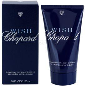 Chopard Wish sprchový gél s trblietkami pre ženy 150 ml