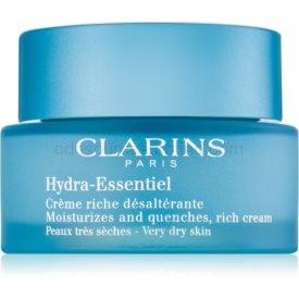 Clarins Hydra-Essentiel Silky Cream bohatý hydratačný krém pre veľmi suchú pleť 50 ml