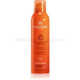 Collistar Special Perfect Tan Moisturizinig Tanning Spray opaľovací sprej SPF 10 200 ml